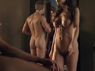 Spartacus Acquaint 3 On all sides of Making love Scenes