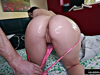 Oiled butt Dani Daniels fucked immutable
