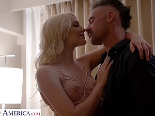 Naughty America - Kenna James is tonight's GF to Fuck