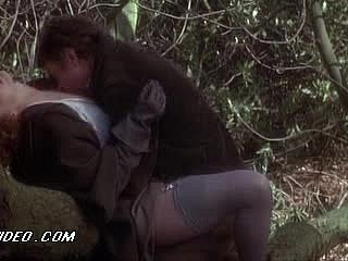 Sexy Sylvia Kristel Gets Fucked Outdoors