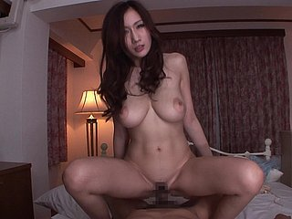 Sexy JULIA finally gets to jump on a long dick until he cums
