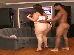 Latin BBW with Phat Botheration Bounce'n on high learn of