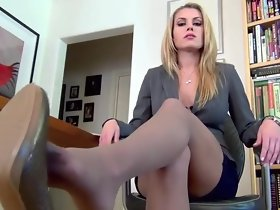 Nylon soles overwrought bitchy boss
