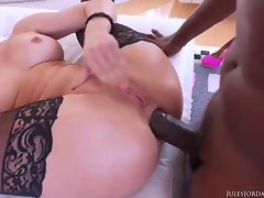 Cherie DeVille Gets Impaled Off out of one's mind Lex