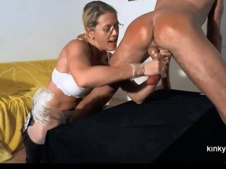 Lint Gemma spanking and milking me