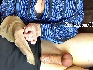 Wrapped anent Mommy's Pantyhose