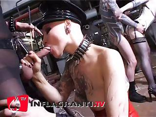 Bizarr, geiler intensiver Dealings - Blowjob deluxe