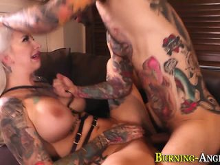 Peaches emo whore rides blarney plus gets big tits cumshot