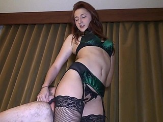 Arse Worship Increased by Ballbusting ... !!!