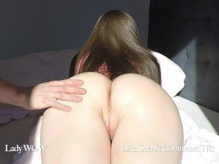 GF upon oiled botheration gets upper case cum saddle with increased by blackball creampie 4k 60fps